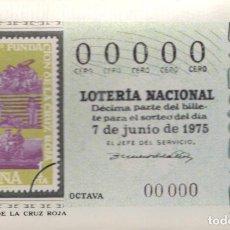 Postales: POSTAL PUBLICITARIA SERIE M Nº 10 DECIMOS SORTEO CRUZ ROJA AÑOS 80 . Lote 61545616