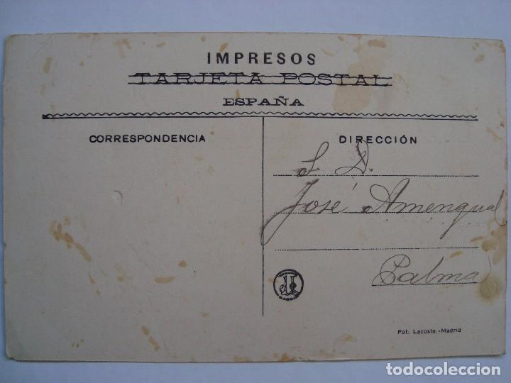 Postales: POSTAL PUBLICITARIA. HEREDEROS DE VICENTE JUAN. PALMA DE MALLORCA. 1908. - Foto 2 - 61919560