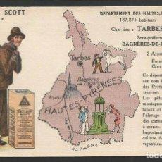 Postales: EMULSION SCOTT - HIGADO DE BACALAO - PUBLICIDAD - (44.696). Lote 62076476