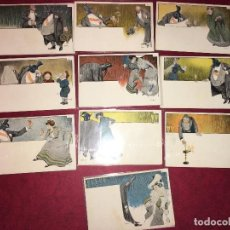 Postales: 10 POSTALES LUSTRAL F. CLARA Y CIA SIFON LUSTRAL VALLHONRAT I SADURNI 1902. Lote 62360828
