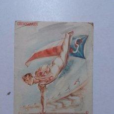 Postales: POSTAL CZECHOSLOVAKIA, FESTIVAL IN PRAGUE, 1948.. Lote 62587876