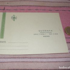 Postales: SUDENTA. DEPOSITOS DENTALES - MADRID - TARJETA POSTAL PUBLICITARIA. Lote 64196807