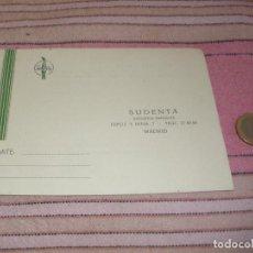 Postales: SUDENTA. DEPOSITOS DENTALES - MADRID - TARJETA POSTAL PUBLICITARIA. Lote 64197539