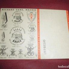 Postales: MAGNIFICA ANTIGUA TARJETA,RICHARD GANS. Lote 64869247