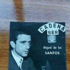 Postales: FOTO POSTAL MIGUEL DE LOS SANTOS. SER UNION DE RADIOYENTES. Lote 67954969