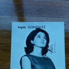 Postales: FOTO POSTAL ANGELA GONZALEZ. SER UNION DE RADIOYENTES. Lote 67955109