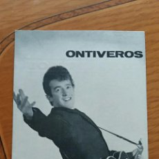 Postales: FOTO POSTAL DISCOGRAFIA DE ONTIVEROS. Lote 68122285