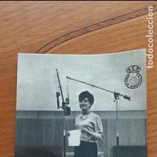 Postales: FOTO POSTAL CARMEN PEREZ DE LAMA. SER UNION DE RADIOYENTES. Lote 68122493