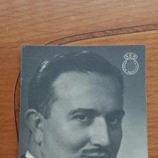Postales: FOTO POSTAL JOSE MANUEL VILAR. SER UNION DE RADIOYENTES. Lote 68122705