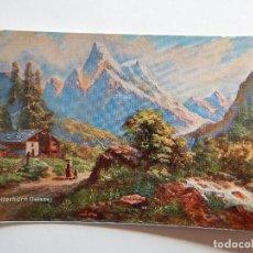 Postales: WETTERHORN (SUISSE) - CHOCOLATES FINOS HIJOS DE ZURICALDAY - BILBAO. Lote 68312629