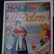 Postales: ANÍS LA DOLORES. Lote 70961787