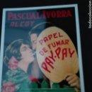 Postales: PAPEL DE FUMAR PAY PAY. Lote 149588573