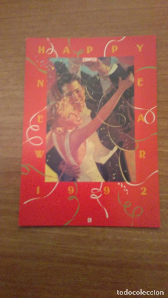 POSTAL PUBLICIDAD CAMPER PAREJA 1992 SIN CIRCULAR (Postales - Postales Temáticas - Publicitarias)