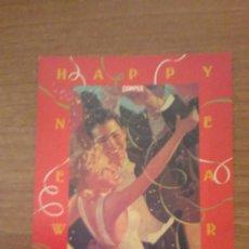 Postales: POSTAL PUBLICIDAD CAMPER PAREJA 1992 SIN CIRCULAR. Lote 71635923