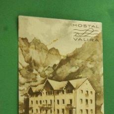 Postcards - POSTAL PUBLICITARIA HOSTAL VALIRA ANDORRA - 72276959