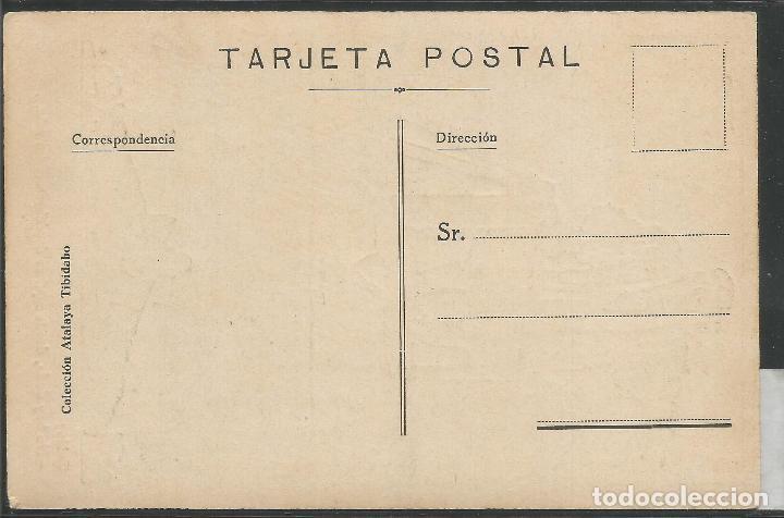 Postales: POSTAL ANTIGUA ATALAYA TIBIDABO - DIBUJO JUNCEDA -VER REVERSO - (46.180) - Foto 2 - 74483999