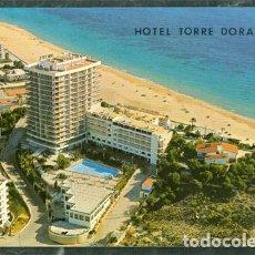 Postales: POSTAL BENIDORM HOTEL TORRE DORADA. Lote 74866155