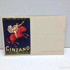 Postales: POSTAL PUBLICITARIA VERMOUTH CINZANO ILUSTRADA POR CAPPIELLO AÑOS 20. Lote 75777489