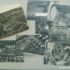 Postales: ESTUCHE CON 10 POSTALES DE CASA CODORNIU . SAN SADURNI DE NOYA ( ESPAÑA ), 1960. Lote 76564087
