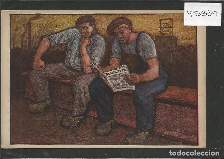 POSTAL PUBLICIDAD REVISTA EL DILUVIO - ILUSTARDO POR OPISSO - VER REVERSO- (46.339) (Postales - Postales Temáticas - Publicitarias)