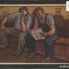 Postales: POSTAL PUBLICIDAD REVISTA EL DILUVIO - ILUSTARDO POR OPISSO - VER REVERSO- (46.339). Lote 76881095
