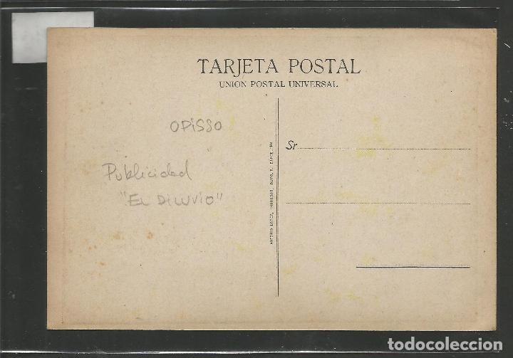 Postales: POSTAL PUBLICIDAD REVISTA EL DILUVIO - ILUSTARDO POR OPISSO - VER REVERSO- (46.339) - Foto 2 - 76881095