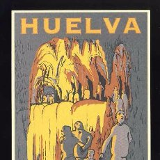 Postales: POSTAL PUBLICITARIA DE HUELVA: ARACENA, GRUTA DE LAS MARAVILLAS (ED.PATRONATO DE TURISMO). Lote 78388133