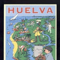 Postales: POSTAL PUBLICITARIA DE HUELVA: ISLA CANELA, AYAMONTE (ED.PATRONATO DE TURISMO). Lote 78388321