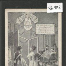 Postales: POSTAL PUBLICITARIA - LAMPARAS EGMAR AEG - VER REVERSO - (46.892). Lote 79934501