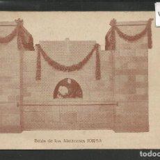 Postales: POSTAL PUBLICIDAD ALMACENES JORBA - BELEN - NAVIDAD 1929 -VER REVERSO -(46.905). Lote 79996481