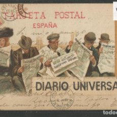 Postales: POSTAL PUBLICITARIA - DIARIO UNIVERSAL -VER REVERSO SIN DIVIDIR -(46.922). Lote 80006385