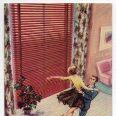 Postales: POSTAL PUBLICITARIA DE LOS AÑOS 60. GRADULUX, SU PERSIANA. BARCELONA.. Lote 80007905