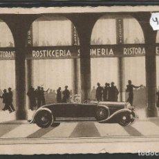 Postales: POSTAL PUBLICITARIA DECO- RESTAURANTE GINO - GENOVA -VER REVERSO -(47.057). Lote 81941352