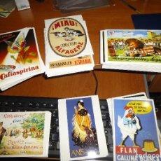 Postales: FANTASTICO LOTE DE 230 POSTALES CON REPRODUCCIONES PUBLICITARIAS VINTAGE, COLECCION CARLOS VELASCO. Lote 84882624