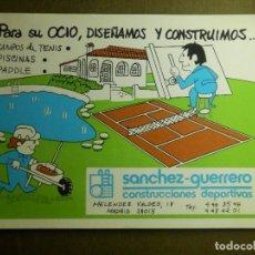 Postales: POSTAL - PUBLICITARIA - SANCHEZ GUERRERO - INSTALACIONES DEPORTIVAS - ESCRITA. Lote 85349616