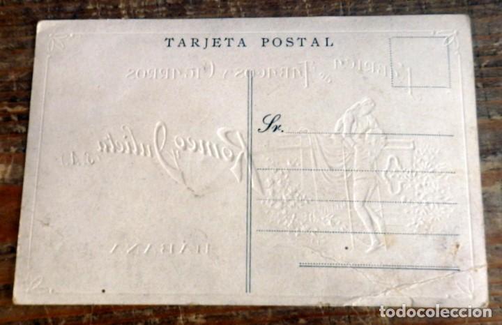 Postales: POSTAL PUBLICITARIA -FABRICA TABACOS Y CIGARROS -ROMEO Y JULIETA - Foto 2 - 85495448
