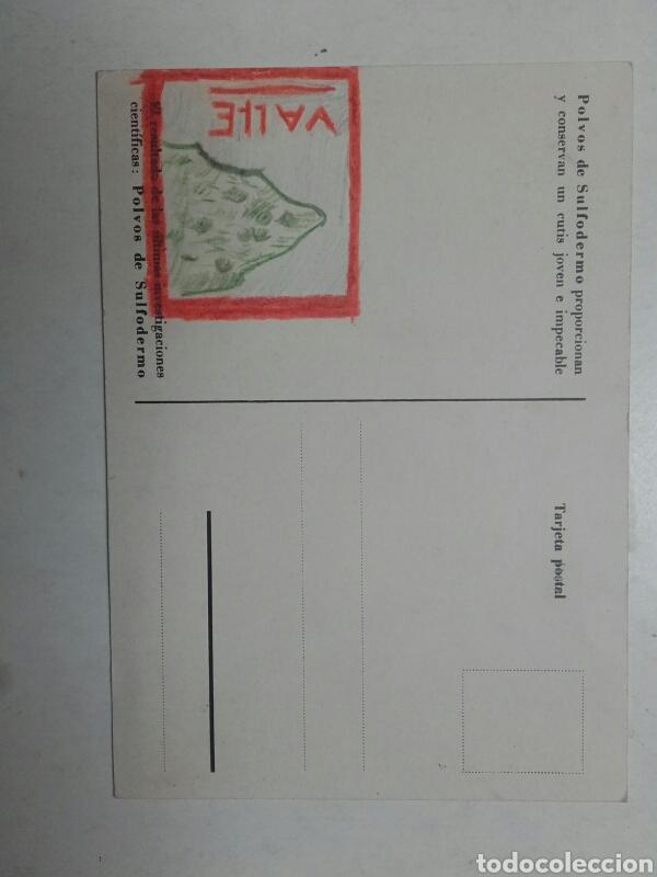 Postales: POSTAL PUBLICITARIA. POLVOS DE SULFODERMO. - Foto 2 - 86357791