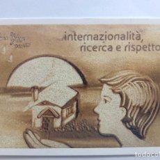 Postales: POSTAL ITALIANA SIN CIRCULAR DE LA PETROLERA ENI. Lote 86808324