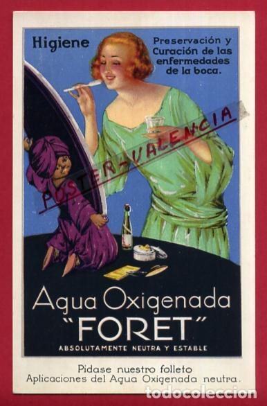 POSTAL PUBLICIDAD , AGUA OXIGENADA FORET , ORIGINAL, P87246 (Postales - Postales Temáticas - Publicitarias)