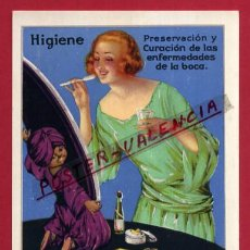 Postales: POSTAL PUBLICIDAD , AGUA OXIGENADA FORET , ORIGINAL, P87246. Lote 87347768