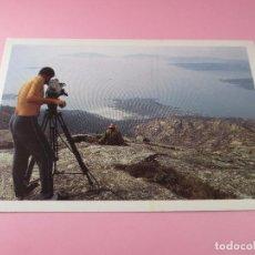 Postales: POSTAL-OS VIAXEIROS DA LUZ(PELÍCULA)-TVG/CAIXAVIGO-SIN CIRCULAR-VER FOTOS. Lote 89524712