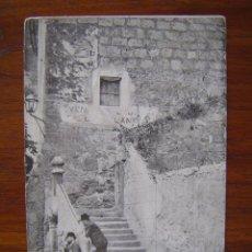 Postales: POSTAL DE MONTSERRAT ( VENTA DE JOSÉ DE LAS LANTIAS ) - PUBLICIDAD DE FOSFO-GLICO-KOLA-DOMENECH . Lote 90080636