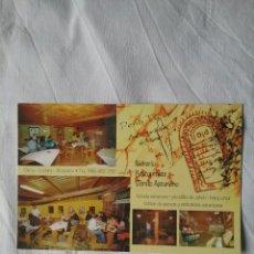 Postales: TARJETA POSTAL PUBLICIDAD. PEÑA TU.SIDRERIA RESTAURANTE TIENDA ASTURIANA. LLANES-ASTURIAS. Lote 91019955
