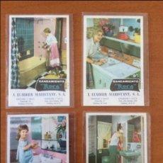Postales: POSTALES DE SANEAMIENTO ROCA 4 POSTALES DIFERENTES ILUSTRACIONES. Lote 93326530