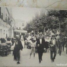 Postales: POSTAL QUE PUBLICITA COLCHONES, ALMOHADAS.... FOTOGRAFÍA ANTIGUA DE SEVILLA.. Lote 94116390