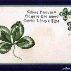 Postales: POSTAL FIRMA COMERCIAL DE MALAGA=BODEGAS DE QUIRICO LOPEZ É HIJOS-IMPRESA EN EL EXTRANJERO .. Lote 94885467