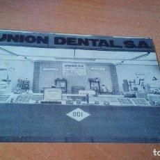 Postales: INSTRUMENTOS DENTALES Y DE DENTISTAS - TARJETA POSTAL - UNION DENTAL S.A. (MADRID). Lote 95073699