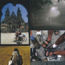 Postales: COLECCION 5 POSTALES PUBLICITARIAS CORREOS. XACOBEO 2010. GALICIA. Lote 96189106