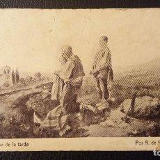 Postales: POSTAL CON PUBLICIDAD CHOCOLATE AMATLLER, BARCELONA. Lote 95860771