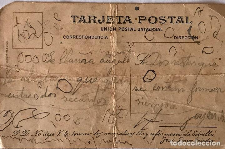 Postales: Exclusiva Tarjeta postal publicidad de Cafés La Estrella de José Gomez Tejedor - Foto 3 - 96527727